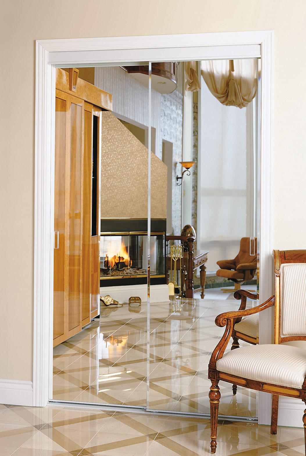 Porte Miroir Biseaute Colonial Elegance