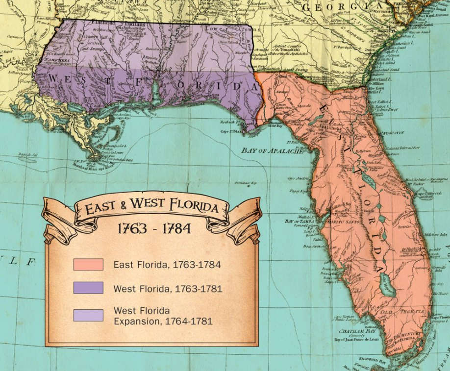 West Florida Map.Maps Colonial Research Associates