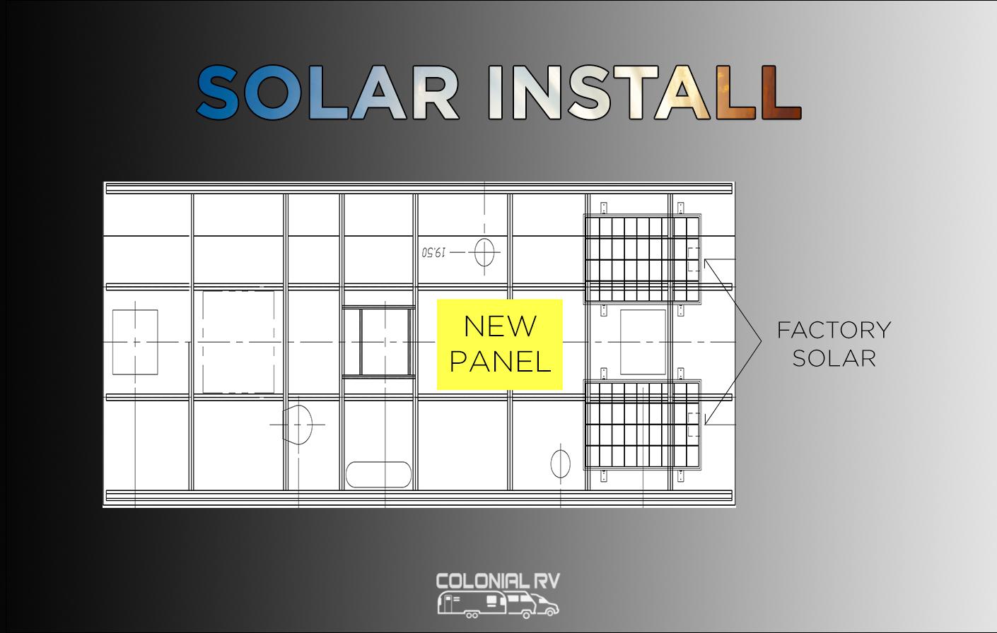 RV Solar Installation