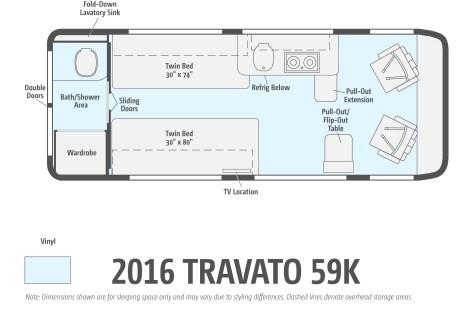 2016 Travato 59K