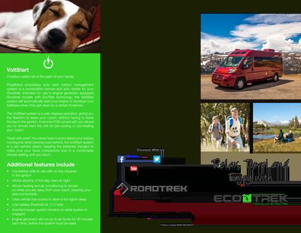 Brochures & Links for Roadtrek Motorhomes: Colonial RV