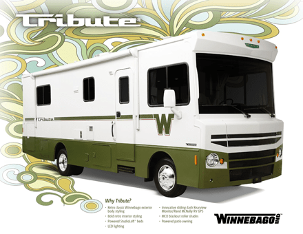 Brochures & Links for Winnebago RV's from Colonial RV.