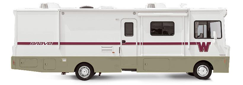 Brave Winnebago RVs | Itasca Model Equivalents Tribute