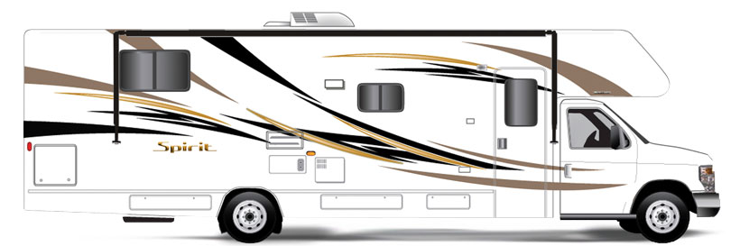 Spirit Itasca RVs | Winnebago Model Equivalents View