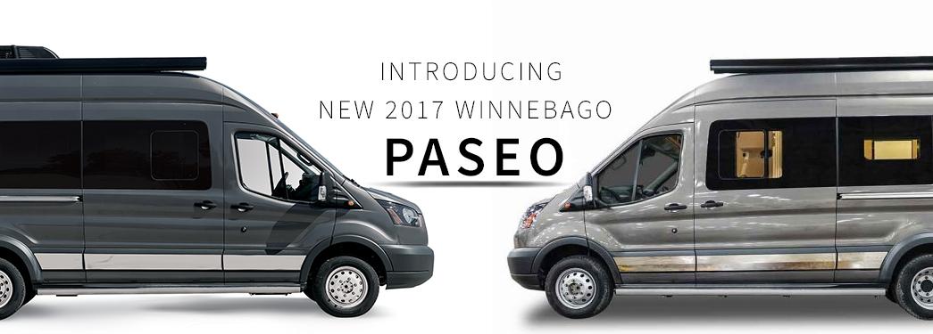 New 2017 Winnebago Paseo 48P