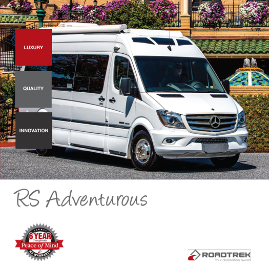 Roadtrek RS Adventurous 2017 Brochure