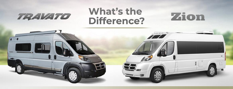 What's the Difference? Winnebago Travato & Roadtrek Zion