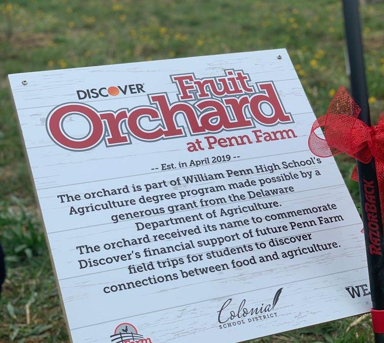 Orchard Dedication and Tree Planting at Penn Farm