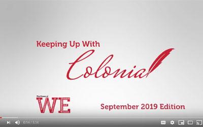 Colonial'dan haberdar olmak - Eylül 2019