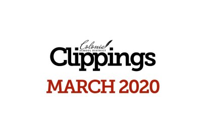 Colonial Clippings: March 30th