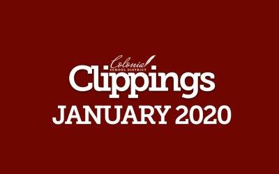Colonial Clippings - Ocak 2020
