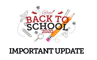Important Update from Colonial Superintendent Dr. Menzer