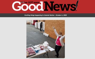 ¡Buenas noticias! 6 de octubre