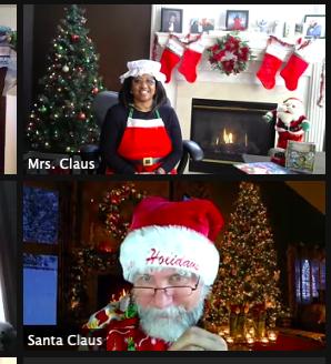 Santa Zimm, Bayan Clause ve bazı CSD Elflerinden özel bir ziyaret