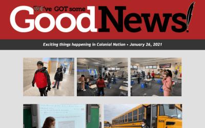 Buenas noticias: 26 de enero