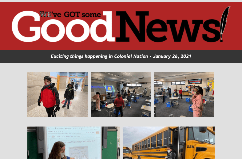 Good News: January 26th