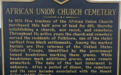 We Honor: African Union Church Cemetery