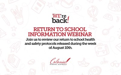 Webinar de información sobre el regreso a la escuela colonial