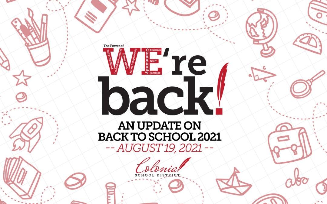 Okula Dönüş Güncellemesi – 19 Ağustos 2021