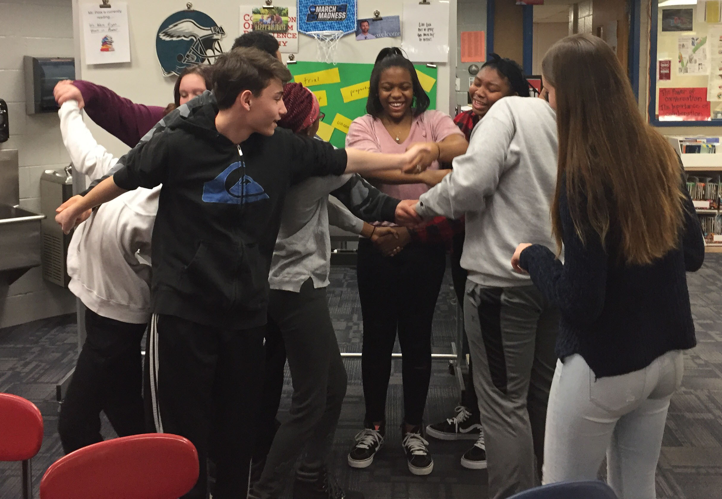 Cms Avid Students Learn About The Value Of A Mentor