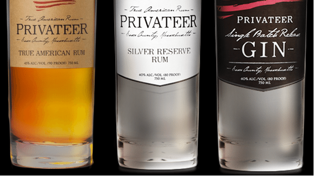 Privateer Rum and Gin