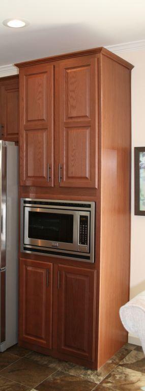 microwave pantry colony homes