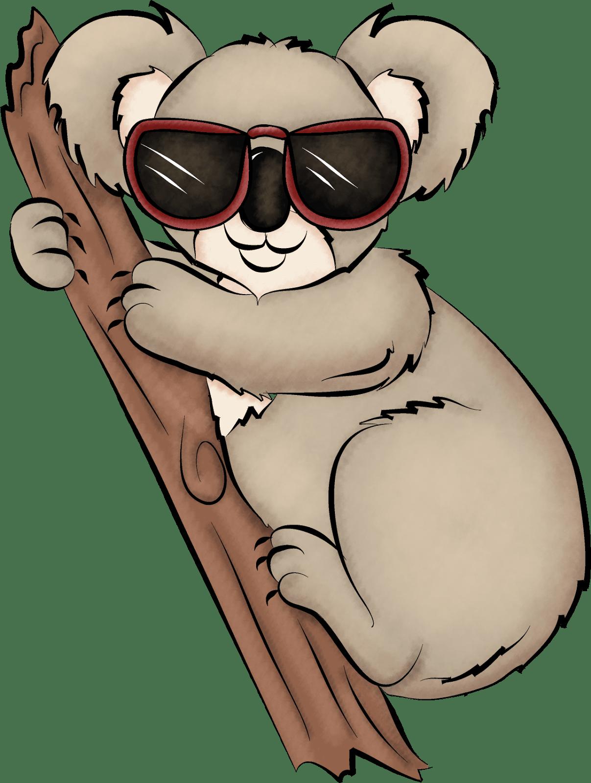 Coloriage Koala Alphabet Imprimer