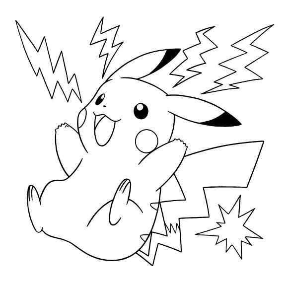 coloriage pikachu coloriage coloriage hulk coloriage fee clochette