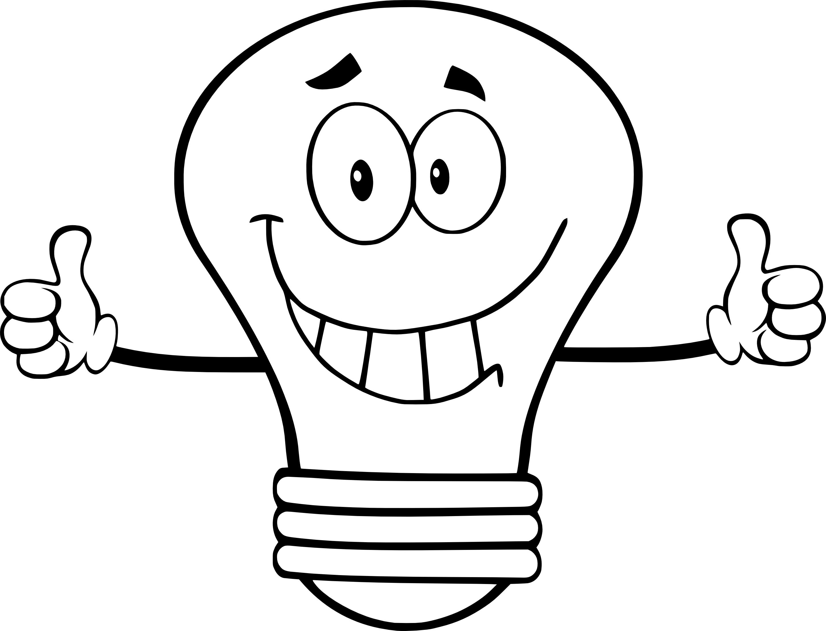 Coloriage Ampoule A Imprimer