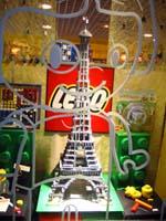 La tour Eiffel en Lego!