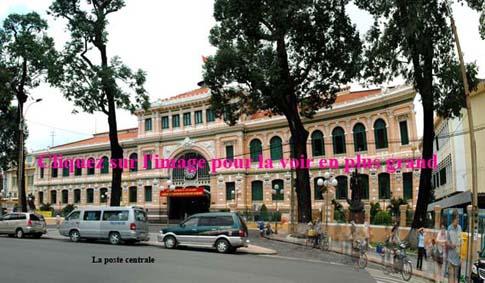 La poste centrale, Ho Chi Minh, Vietnam