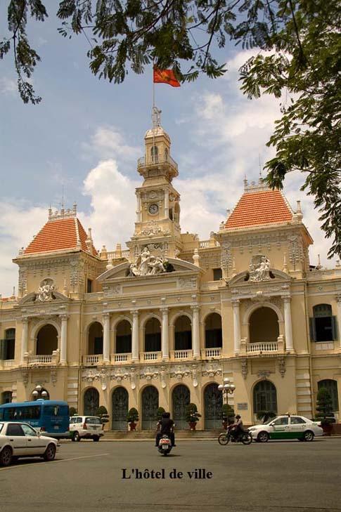 L'hôtel de ville, Ho Chi Minh, Vietnam
