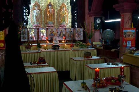 La pagode de l'empereur de Jade, Ho Chi Minh, Vietnam