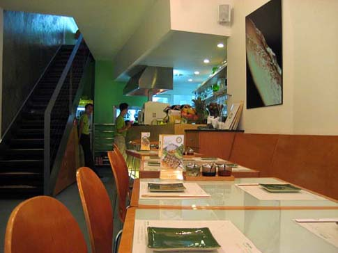 Le restaurant Wrap & roll, Ho Chi Minh, Vietnam