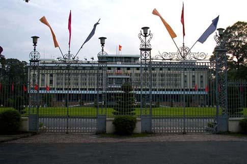 Le Palais de la Réunification, Ho Chi Minh, Vietnam