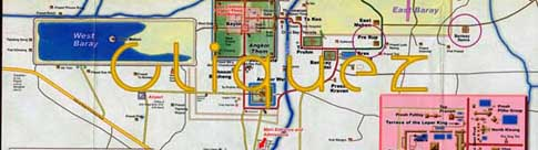 Plan de Angkor - Map of Angkor