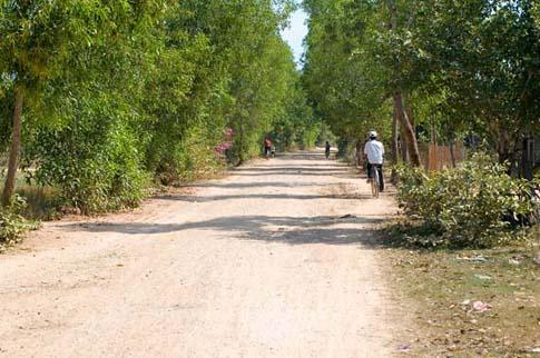 Road to Phnom Chisor, la route de Phnom Chisor