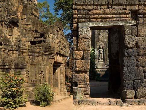 Ta Phrom, Cambodia, Cambodge