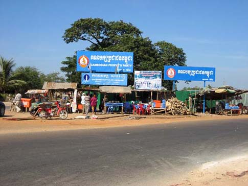 Road number 6 - Cambodia - Route 6 - Cambodge