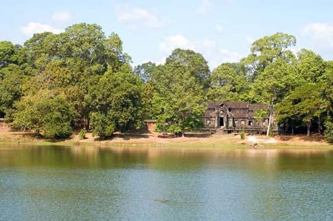 Mur d'enceinte d'Angkor Wat - Cambodia - Cambodge