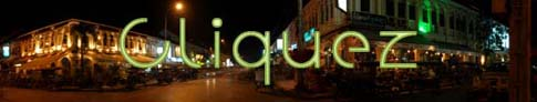 Siem Reap by night - Panorama - Cambodia - Cambodge