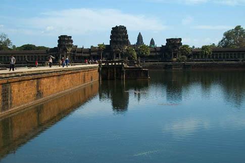 Angkor Wat - entrée - Entrance