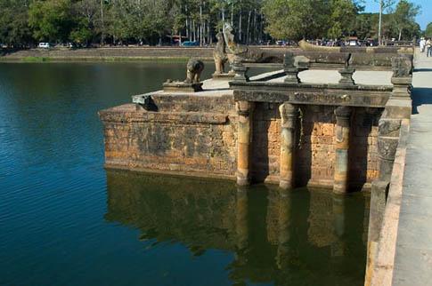 Angkor Wat - Le pont - The Bridge