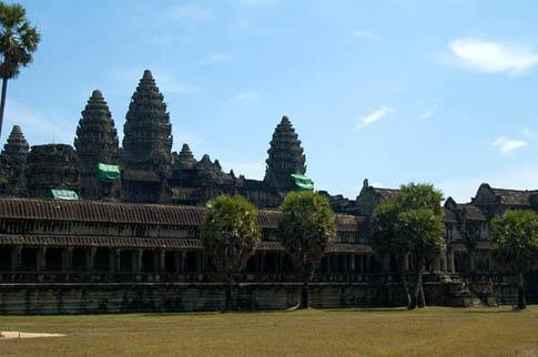 Angkor Wat - Première enceinte - Outer wall