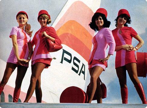 Vintage stewardess photos