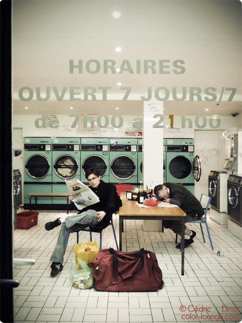 Laverie automatique - Marais - Paris