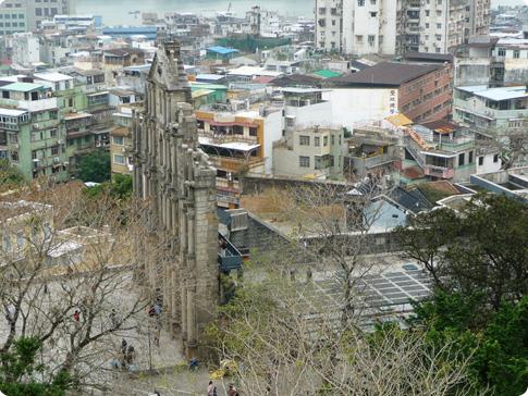 Façade Sao Paulo du fort
