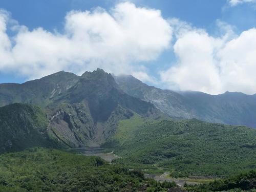 Le volcan de Sakurajima