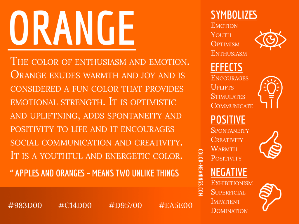 Orange Color Meaning The Color Orange Symbolizes