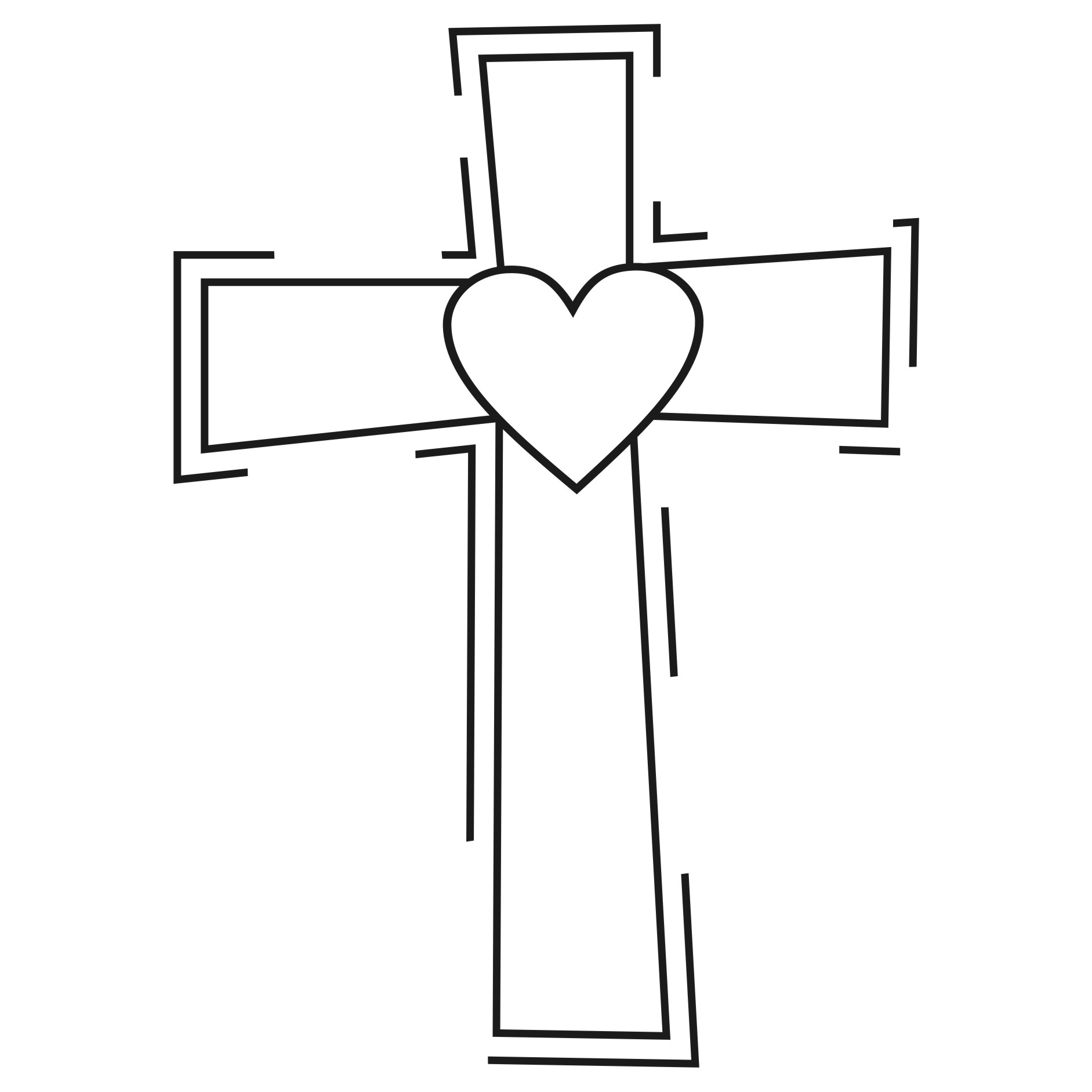 Clipart Amp Design Ideas Clipart Religious Heart Cross